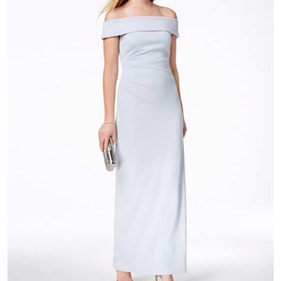 47% off Vince Camuto Dresses Light Blue Gown | Poshmark